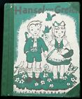 Eloise Wilkins' HANSEL AND GRETEL Second Edition First printing 1954 ex-library