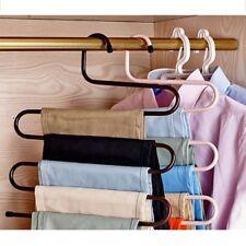 S-style Magic Pants Kleiderbügel Space Saver Rack Jeans Schal Krawatte Schrank