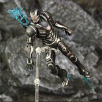"Marvel Avengers Endgame War Machine James Rhodes Iron Man Action Figure Toy 7"""