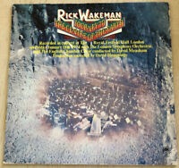 Rick Wakeman  Journey To The Center Of The Earth  Vinyl Record LP with Insert
