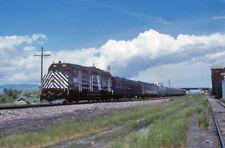MRL 391 pass special   _ORIGINAL TRAIN SLIDE
