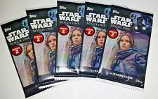 Topps Trading Cards Disneys Star Wars Rogue One Series 2 - 5 PACK LOT BRAND NEW
