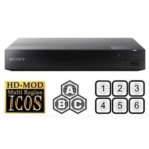 Sony BDP-S3500 CD / DVD / Bluray player with multi-region upgrade