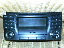 Mercedes benz 211 W211 E320 CDI Satnav Radio 2118273842 cd player telephone