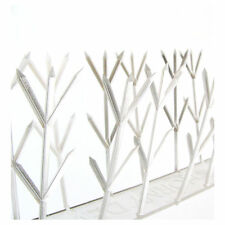 POLYCARBONATE PIGEON SPIKES * 42cm * Plastic Bird Deterrent - Clear & Discreet
