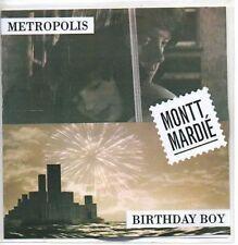 (AA345) Montt Mardie, Metropolis / Birthday Boy - DJ CD