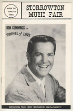 "Bob Cummings Playbill 1962  ""Tunnel of Love""  Summer Stock  Storrowton"