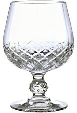 CRISTAL D'ARQUES LONGCHAMP 6 BRANDY GLASSES - BNIB