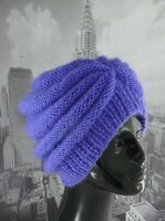 PRINTED INSTRUCTIONS-CHUNKY BEEHIVE TURBAN HAT KNITTING PATTERN