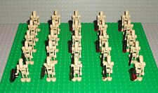 Star Wars Lot 25 LEGO Battle Droid Army Minifigures People Blasters 7662 7929