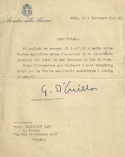 Ministero della Marina Acquisto Fattoria del Prato San Casciano Val di Pesa 1941