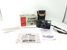 1984 Olympic Canon Autoboy 2 AF35M II Film Camera w/Case Japan Auto-Focus