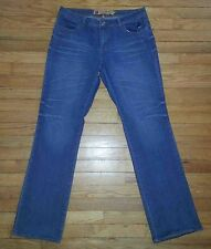 2295p Sz 9/10 34x34 Blue APPLE BOTTOMS Sweet to the Core Designer Jeans!