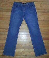 Apple Bottoms Designer Jeans Blue Sz 9/10 34x34 Sweet to the Core p2295