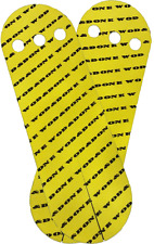 WOD&DONE Custom Hand Protection Athletic Grips for CrossFit Gymnastics Yellow 20