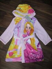 Girls TANGLED Rapunzel dressing gown bathrobe 2-3 years NEW official