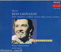 Mozart: Don Giovanni / Krips, Siepi, Dermota, Corena, Danco - CD