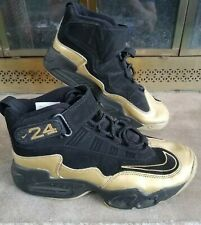 Vintage Nike Air Ken Griffey Jr Max 1 Seattle Mariners MLB Gold Mens Size 8.5