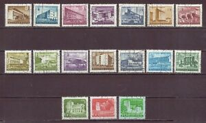 Hungary, Budapest Buildings & Castles, Used, 1951 - 1953, 1960, OLD