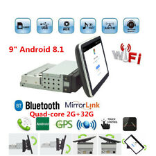 9 In 2GB+32GB Android 8.1 HD Car Stereo GPS Navigation Radio Player 1Din WIFI