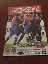 Dagenham & Redbridge v Shrewsbury Town 2009/10