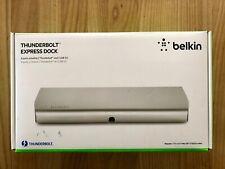 Belkin Thunderbolt Express Dock, silber +++ Top-Zustand +++ OVP +++
