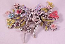Kirks Folly NWOT Fairy Flowers Pin Brooch