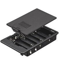 Batteriehalter 6x Mignon AA geschlossenes Gehäuse