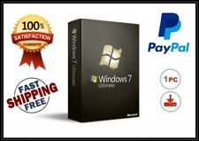 Microsoft Windows 7 Ultimate 32/64BIT ✔ MS® Windows ✔ FULL VERSION ✔ ENGLISH ✔