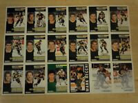 1991-92 Pinnacle French PITTSBURGH PENGUINS Team Set - 18 Cards - LEMIEUX JAGR