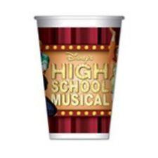 Bicchieri Carta per Festa High School Musical Disney Party 50 Pz nuovo imballato