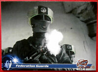 Terry Nation's BLAKE'S 7 - Card #002 - Federation Guards - Unstoppable 2013