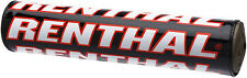 Renthal ATV/MX SX Crossbar Handlebar Bar Pad - 10in. - Black/Red - P261