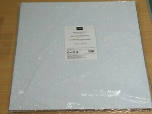 Stampin Up 2 sheets 12 x 12 inches Sparkle glimmer paper
