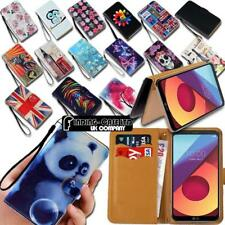 For Various LG Mobile Phones Leather Smart Stand Wallet Case Cover