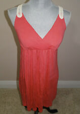 Pink Republic Macrame T back Pink Sundress Size Medium New with Tags