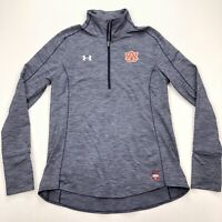 Auburn Tigers Team Player Issue Under Armour 1/2 Zip Pullover Jacket • Medium