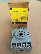 Square D Relay Socket 8501NR51 Series A NEW IN THE BOX