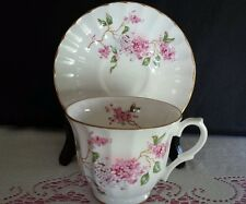 VINTAGE Lefton Fine Bone China Tea Cup and Saucer England