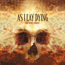 AS I LAY DYING - Frail Words Collapse CD