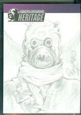 Star Wars Heritage  Sand People  Sketch Card by Ray Lago