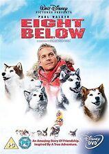 Eight Below Paul Walker, Bruce Greenwood, Moon Bloodgood NEW SEALED UK R2 DVD