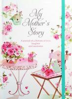 MY MOTHER'S STORY JOURNAL Mum Child Present Birthday Gift Book Photos Daughter