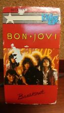 BON JOVI BREAKOUT Video EP Metal Rock VHS Cassette1984