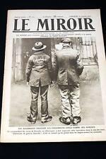 GUERRE 14-18-WW1-LE MIROIR N°112 PRISONNIERS