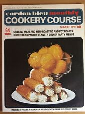 Vintage Cordon Bleu Monthly Cookery Course Number 1,  64 Pages