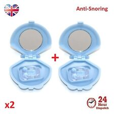 2x ANTI SNORE SNORING NHS NOSE CLIP DEVICE SLEEP AID STOP STOP GUARD SNORING