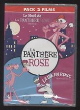 NEUF DVD 2 films LE NOEL DE LA PANTHERE ROSE + LA VIE EN ROSE DESSIN ANIME = 4H