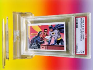 1966 A&BC Batman MIDNIGHT CONFERENCE #4 EXCELLENT 5 - Vintage garno PSA