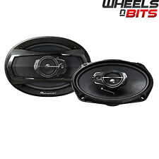 "Pioneer TS-A6933IS 6x9"" inch 3 way 550Watts Each Car speakers Rear Shelf 90 RMS"